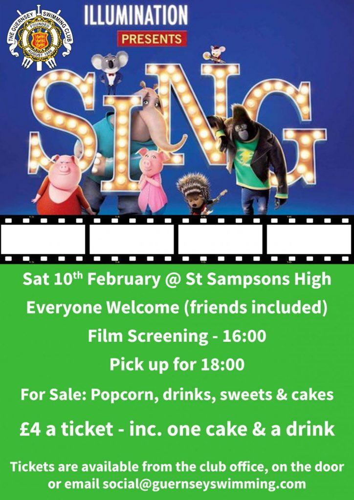 Film Screening of Sing @ St Sampson's High